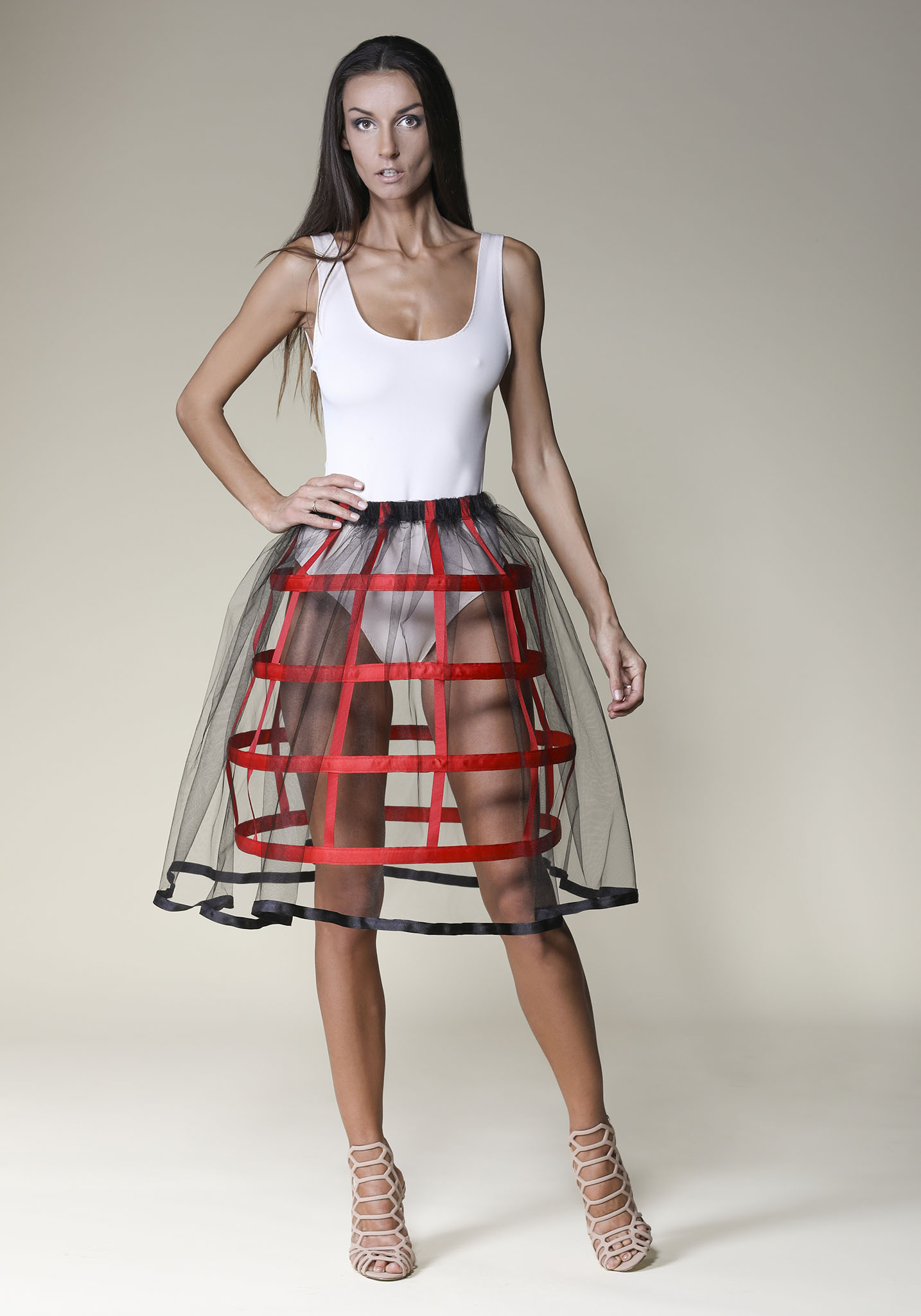 Tulle Cage Skirts