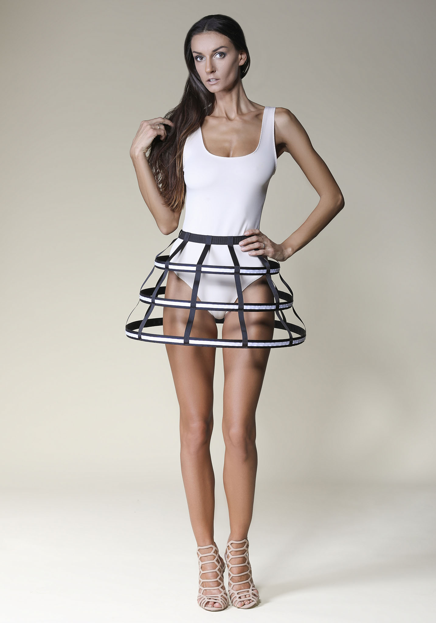 Short Cage Skirts